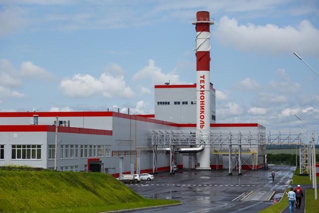 производственная база Технониколь