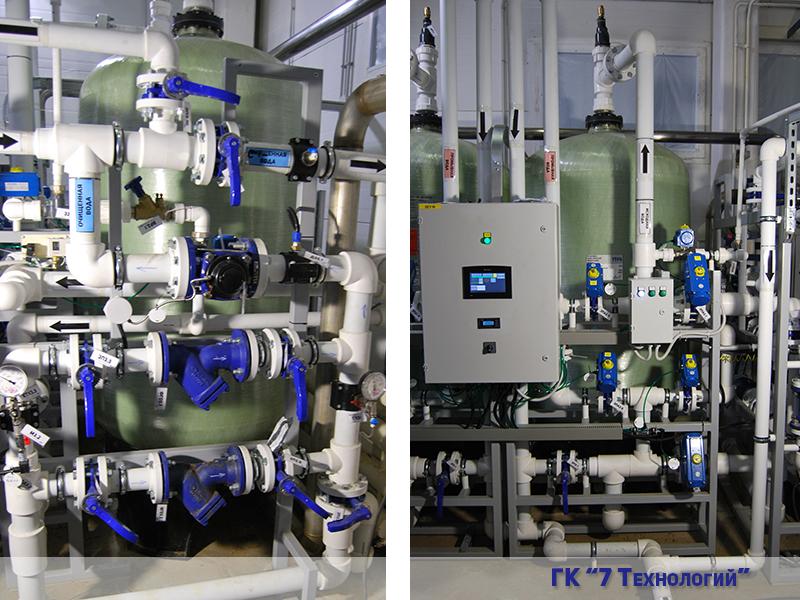 водоподготовка для различных отраслей применения: медицины