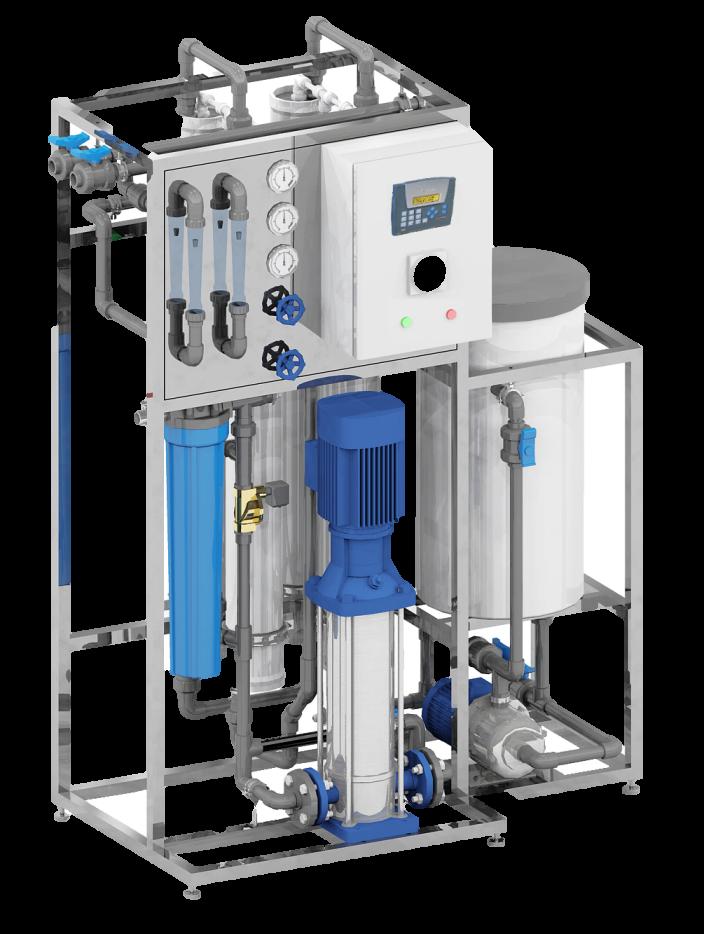 установка для деминерализации воды